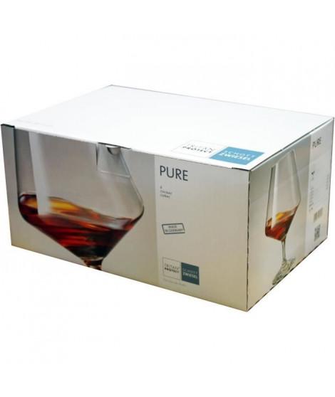 SCHOTT ZWIESEL Boîte de 6 verres a cognac Pure - 61,6 cl