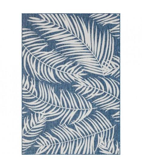 NAZAR Tapis extérieur / intérieur Moa - 120 x 160 cm - Bleu