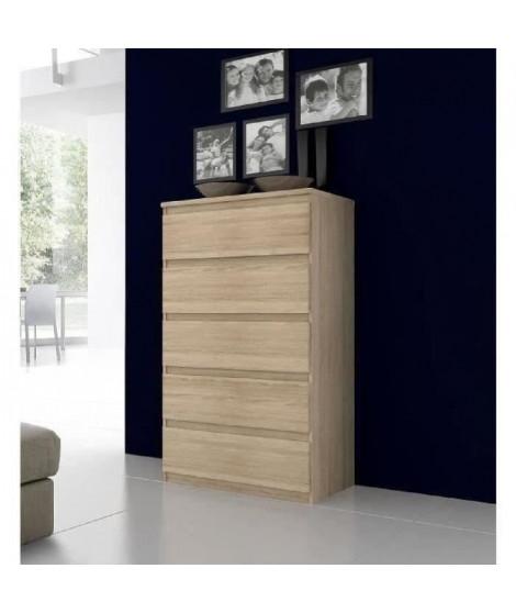 FINLANDEK Commode de chambre NATTI style contemporain décor chene - L 78 cm