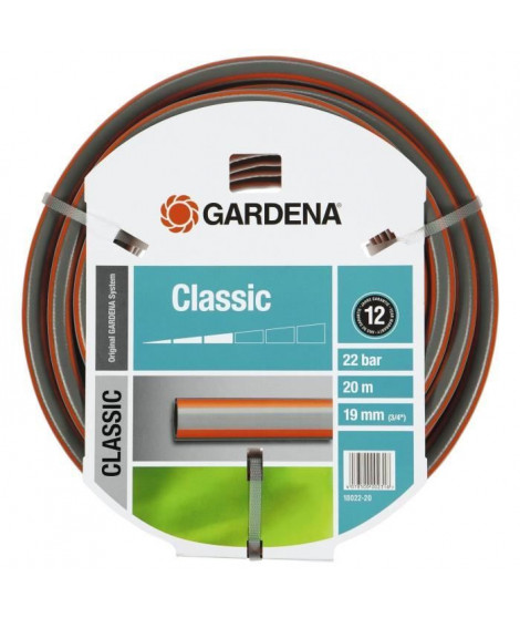 GARDENA Tuyau d'arrosage Classic 20m Ø 19mm