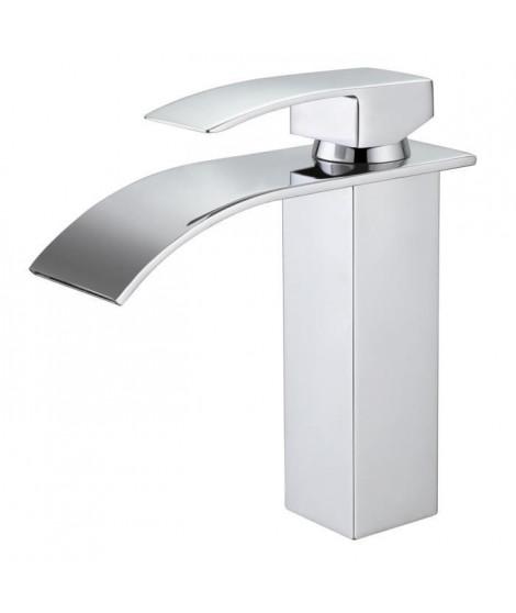 OCEANIC Mitigeur salle de bain - Pour vasque et lavabo - En cascade - En laiton