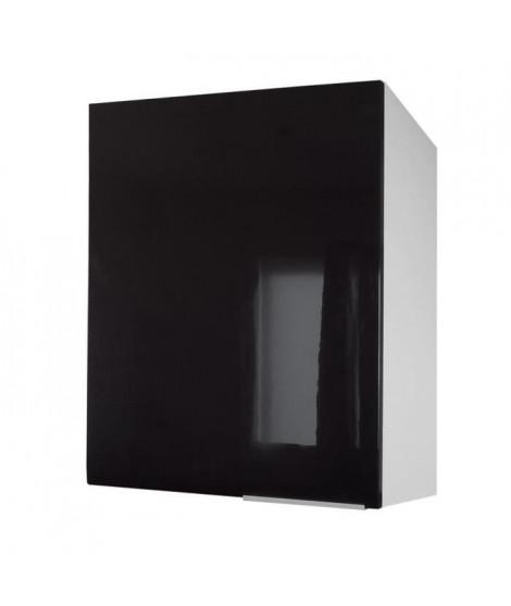 POP Meuble haut de cuisine L 60 cm - Noir