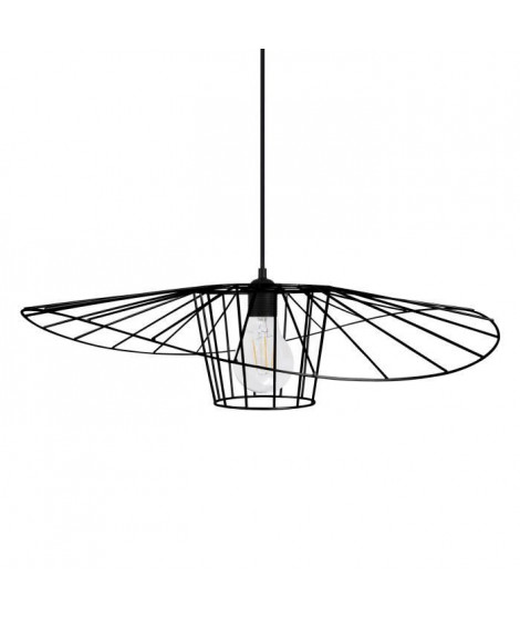 LADY BIRD Suspension filaire - Ø60 x H70 cm - Noir