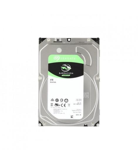 SEAGATE - Disque dur Interne HDD - BarraCuda - 4To - 5 400 tr/min - 3.5 (ST4000DM004)