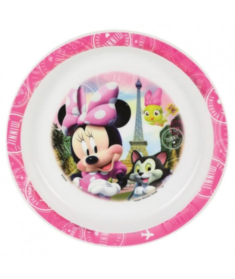 Fun House Disney Minnie assiette micro-ondable pour enfant