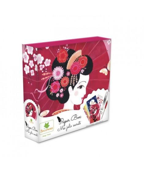 SYCOMORE - Paper Box - Kit de papeterie pour enfants - Mes jolies secrets - Princesses - Petit Modele - Des 7 ans