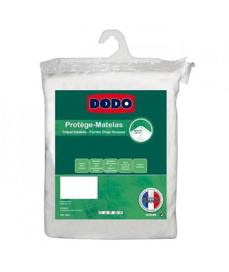 DODO Protege-matelas Alese imperméable Jade 140x190 cm