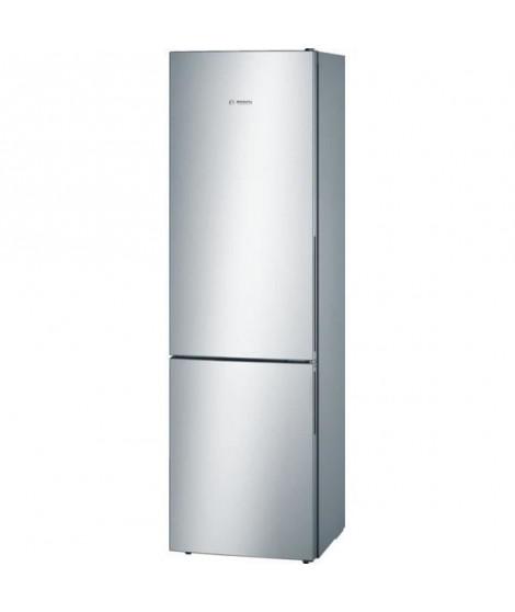 BOSCH KGV39VL31S - Réfrigérateur congélateur bas - 344L (250+94) - Froid brassé - A++ - L 60cm x H 201cm - Inox