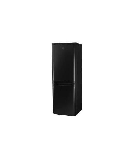 INDESIT NCAA 55 K - Réfrigérateur congélateur bas - 217L (150+67) - Froid statique - A+ - L 55cm x H 157cm - Noir