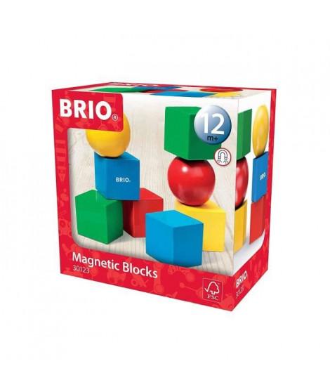 BRIO - 30123 - Blocs De Construction Magnetiques - Jouet en bois