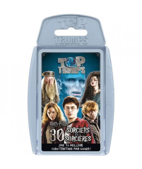 TOP TRUMPS - Harry Potter - Jeu de cartes - Version française