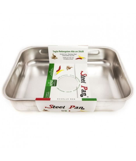STEEL PAN SP11163 Plat a four