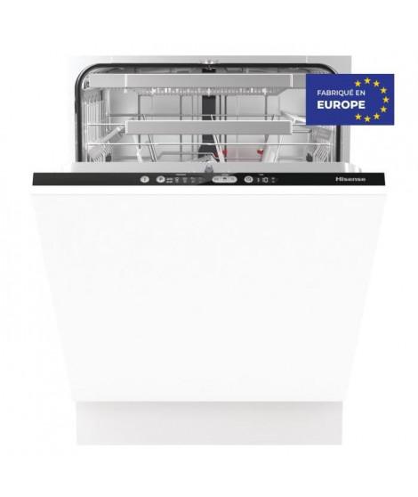 Hisense - HV6131 - Lave vaisselle encastrable - 16 couverts - A+++ - programme rapide 20min - cuve inox - ouverture auto de l…