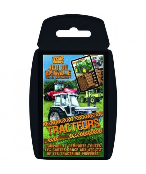 TOP TRUMPS - Tracteurs - Jeu de cartes - Version française