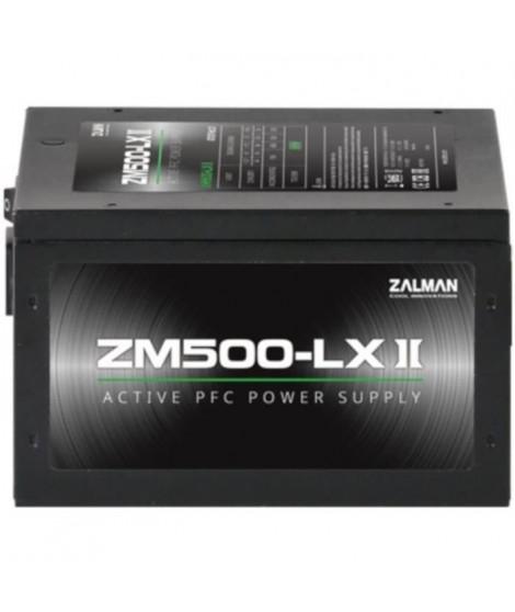 ZALMAN - ZM500-LX II - 500W - Alimentation non modulaire