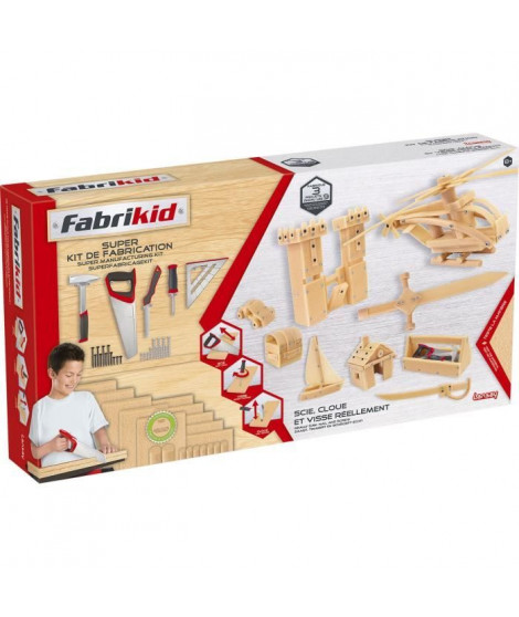 LANSAY Fabrikid Super Kit De Fabrication