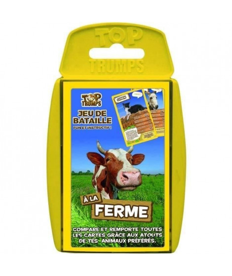 TOP TRUMPS - A la ferme - Jeu de cartes - Version française