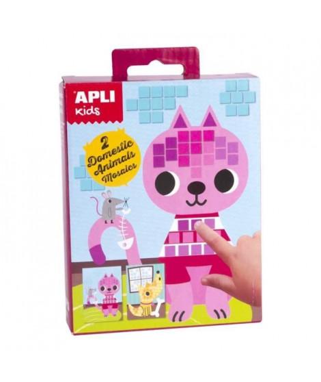 APLI Mini kit mosaique Animaux domestiques - En mousse