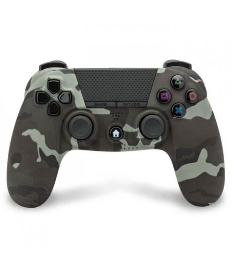 Manette Bluetooth Camouflage Under Control avec Prise Casque pour PS4