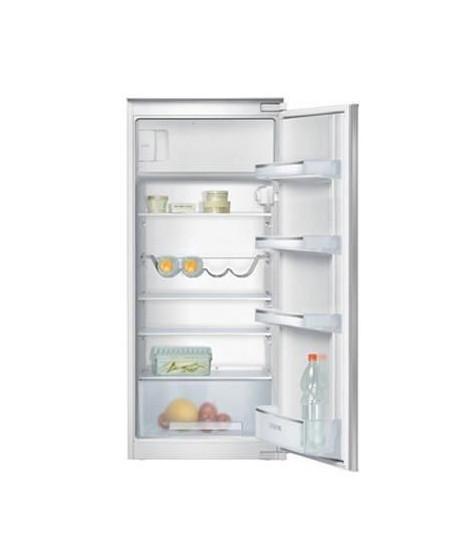 SIEMENS KI24LV21FF - Réfrigérateur 1 porte encastrable - 204L - Froid statique - A+ - L 54,1cm x H 122,1cm - Blanc