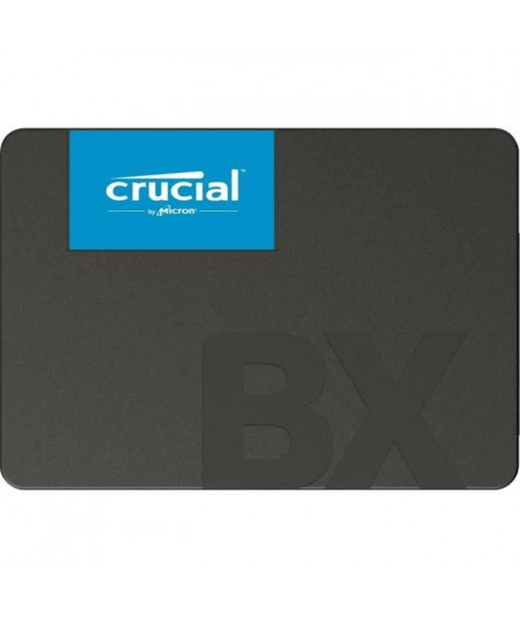 CRUCIAL - Disque SSD Interne - BX500 - 240Go - 2,5 (CT240BX500SSD1)