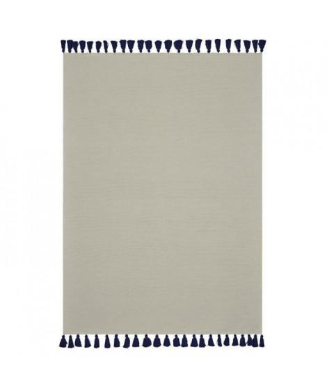 TODAY Tapis Cyclades - 120 x 170 cm - Beige et bleu