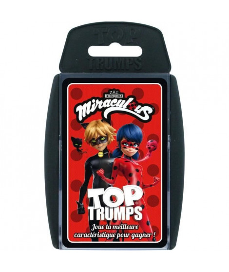 TOP TRUMPS - Miraculous - Jeu de cartes - Version française