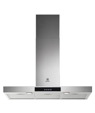 ELECTROLUX LFT429X - Hotte - évacuation ou recyclage - 600m3/h - 3 vitesses - L90cm - filtres inclus - inox