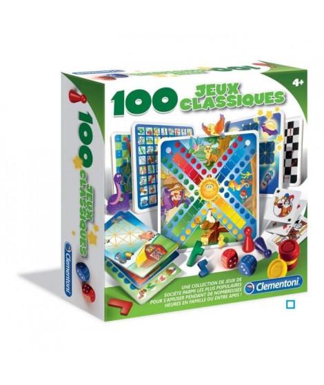 CLEMENTONI - 100 jeux classiques - Jeu de société