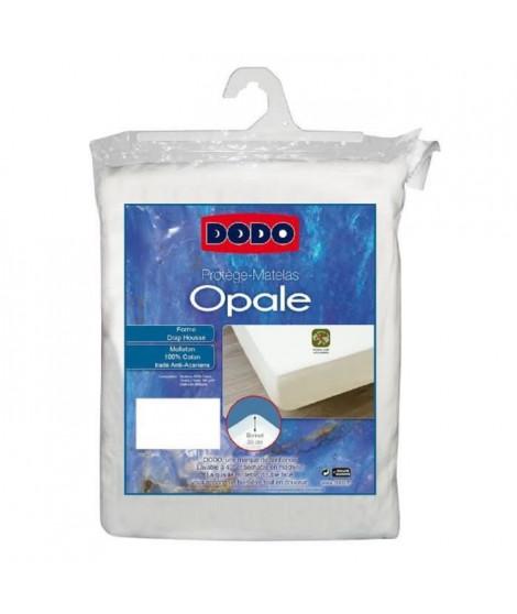 DODO Protege-matelas Opale 160x200 cm en forme de drap housse