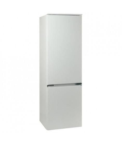 OCEANIC RBC275E - Réfrigérateur congélateur bas encastrable - 275L (205+70) - Froid statique - A+ - L 54cm x H177cm