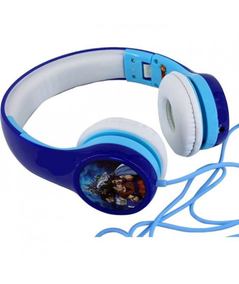 DRAGON BALL Z SUPER Casque audio enfant Trunks et Goten - Bleu