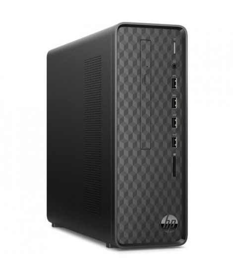 HP PC de Bureau S01-aF0009nf - Pentium J5005 - RAM 4Go - Stockage 128Go SSD + 2To HDD - Windows 10