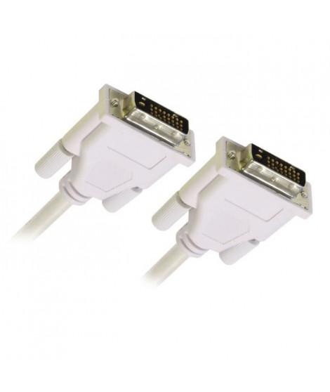 APM Câble DVI Double Link 24+1 M / M - 1.8m