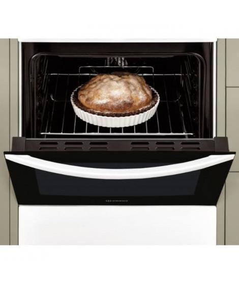 INDESIT - IS5E5PCW/E - Cuisiniere électrique - 4 foyers - 7000W - Four Catalyse - 59L - A - 50x60cm - Blanc