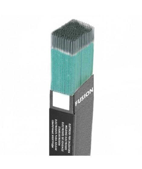 FUSION  Electrode de soudure ø 3,2 mm longueur 350 mm enrobée en couleur verte de la gamme  color