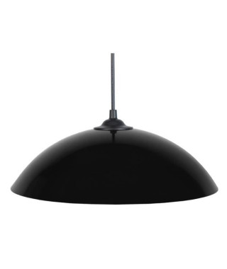 Lustre - suspension Demi-lune E27 25 W Ø29,5 cm Noir