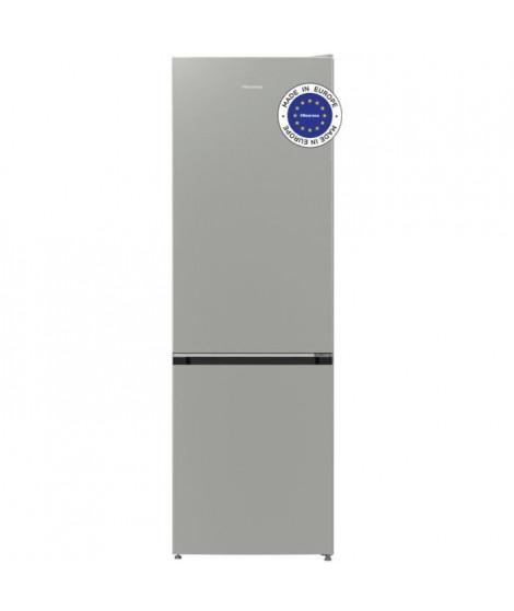 HISENSE RB418D4AD2 - Réfrigérateur congélateur bas - 326L (229L + 97L) - froid brassé et statique - 158x60x64 cm - A++ - Gris…