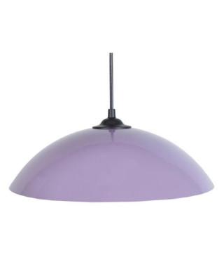 Lustre - suspension Demi-lune E27 25 W Ø29,5 cm Violet