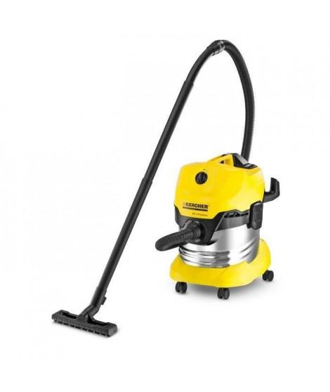 KÄRCHER Aspirateur eau-poussiere WD 4 Premium - Cuve inox 20 L