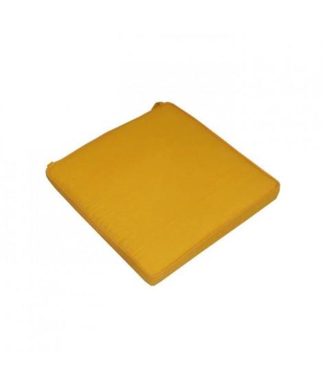 JARDIN PRIVE Assise de Chaise Monte Carlo Safran - 39x39x5 cm