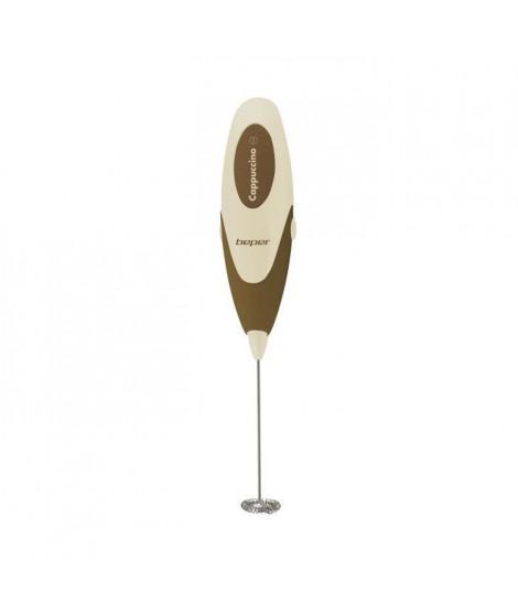 BEPER 90349 Mousseur a lait pour Cappuccino - A batterie