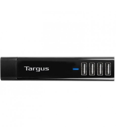 TARGUS Chargeurs téléphone portable & Tablette - 4 ports USB - Noir