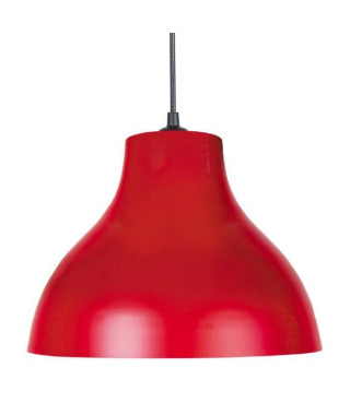Lustre - suspension E27 25 W Ø29,5cm Rouge