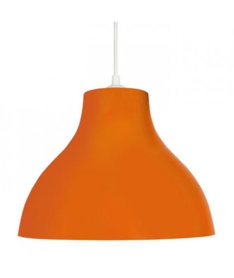 Lustre - suspension E27 25 W Ø29,5cm Orange