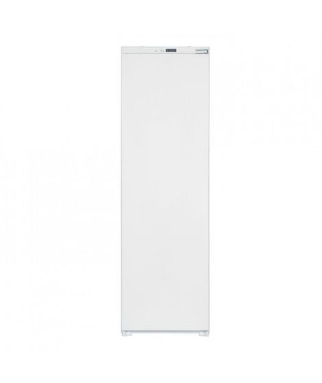 TELEFUNKEN TKFIL300A+ - Réfrigérateur 1 porte - Encastrable - 300L - Froid Brassé - A+ - L 54 x H 177 cm - Fixation Glissieres
