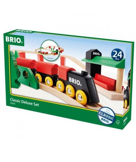 BRIO - 33424 - Circuit Tradition Deluxe - Jouet en bois