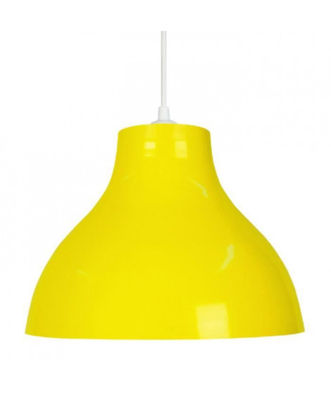 Lustre - suspension E27 25 W Ø29,5cm Jaune