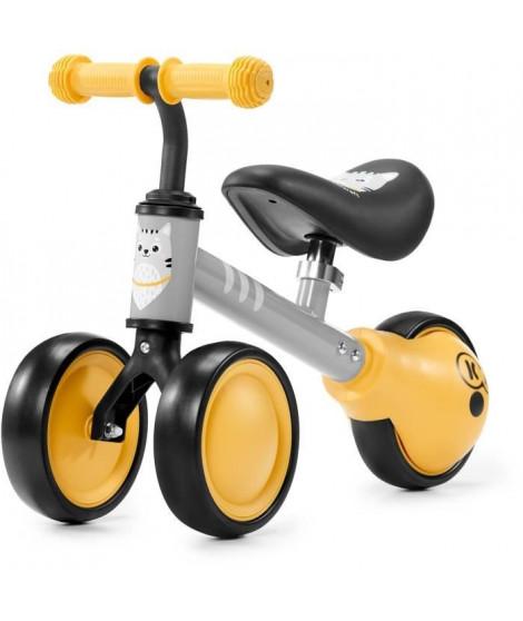 KINDERKRAFT Mini vélo Draisienne CUTIE Jaune - 3 roues - Des 1 an