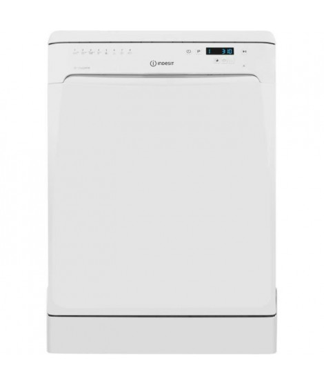 INDESIT DFP58T94Z Lave-vaisselle posable baby care - 14 couverts - 44 dB - A++ - Larg. 60 cm - Moteur induction